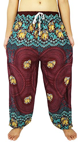 [Lovely Creations's Unisex Plus Size Pants Adjustable Waist 24-44