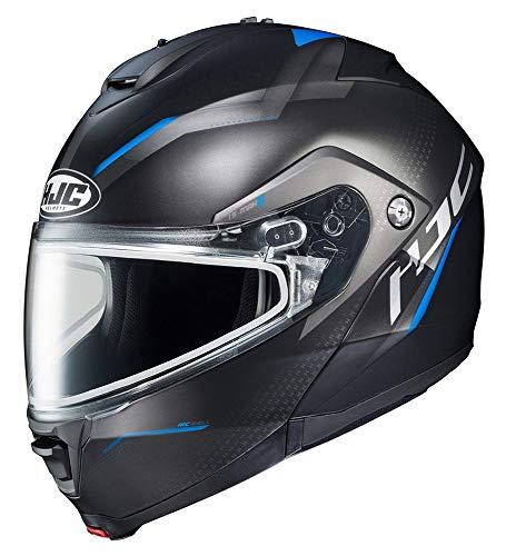 HJC is-MAX 2 Dova Dual Lens Shield Snow Helmet Blue MD