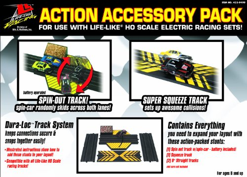 Life Like Action Accessory Dura Lockrace Track Pack