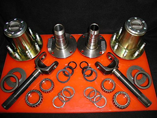 EMS Offroad Hub Conversion Kit for Dana 60 & AAM, 00-08 SRW Dodge by EMS Offroad