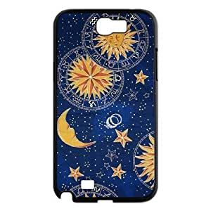 MEIMEISun Moon Pattern Use Your Own Image Phone Case for Samsung Galaxy Note 2 N7100,customized case cover ygtg542736MEIMEI