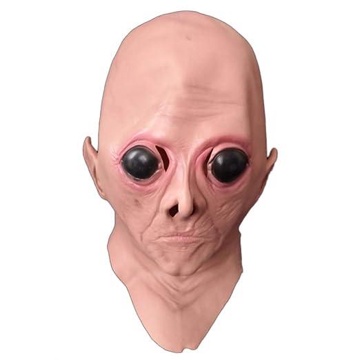 QQWE Máscara De Halloween Big Eye Alien Mask Head Cosplay ...