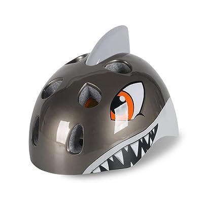 Heemtle Shark Cycling Bike Helmet Skateboard Helmet for Toddler Child Kids Children Boys Girls Age 5-8 3 Colors Opional(Adjustable:52-58cm) : Sports & Outdoors [5Bkhe0206416]