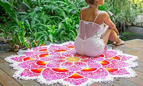 EVALESS Cotton Mandala Tapestry Swimsuit