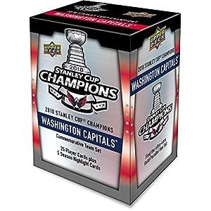 Upper Deck Washington Capitals 2018 Stanley Cup Champions Commemorative 30-Card Set – Hockey Team Sets