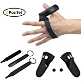Touch Controller Grip Accessories Knuckle Strap and Grip Cover - for Oculus Quest/Oculus Rift S (Black)