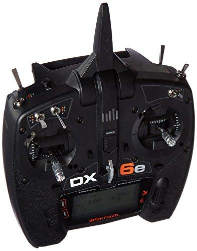 - Spektrum DX6E 6Ch Transmitter