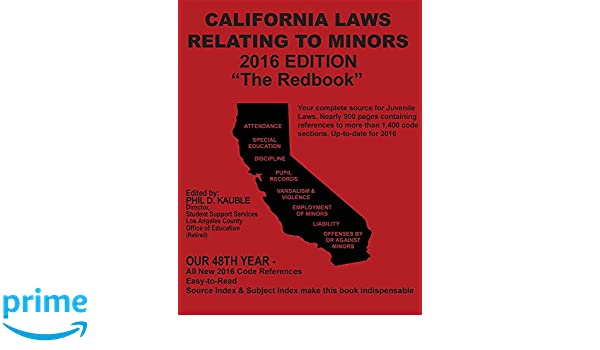 California law on adults hookup minors