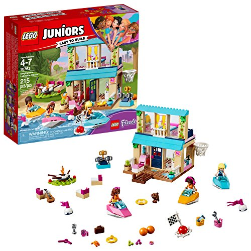 LEGO Juniors Stephanie's Lakeside House 10763 Building Kit (215 piece)