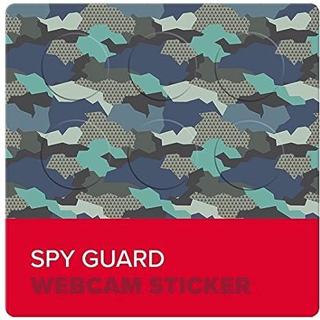 Spy Guard Webcam Sticker Camo