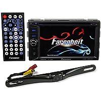 Farenheit TI-623B 2-Din In-Dash 6.2 Car Monitor DVD/SD/USB+Bluetooth + Camera