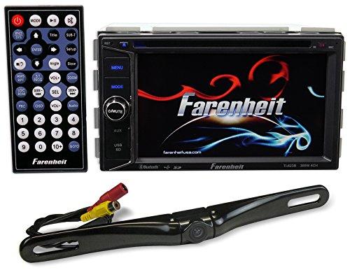 "Farenheit TI-623B 2-Din In-Dash 6.2"" Car Monitor DVD/SD/U..."