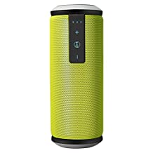 Bluetooth Speaker,ELEGIANT Super Bass Outdoor Portable Bluetooth Speaker 4.0 Waterproof Subwoofer Wireless Stereo Music Sound Box with DSP Noise Reduction Mic for iPhone iPad Android Smartphone Fluorescent green