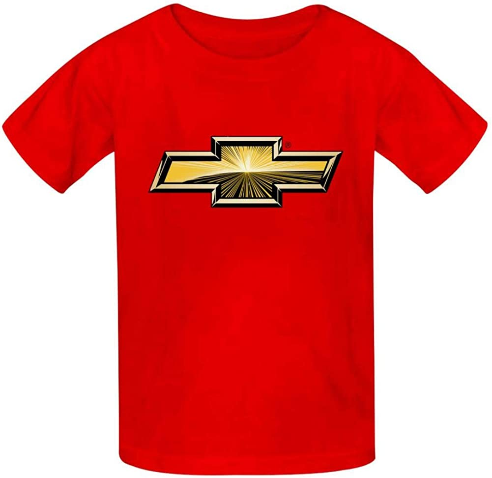 Black//White//Red//Gray Legend Chevrolet Car Logo Cute Funny Classic T-Shirt for Boys Girls