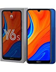 "Huawei HW-JKT-L29CHW Y6S Dual Sim Smartphone, 6.09"" LCD Display, 3GB RAM, 64GB ROM, Blue"