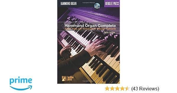 Hammond Organ Complete: Dave Limina: 8601406354036: Amazon com: Books