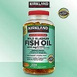 Kirkland Signature Expect More Wild Alaskan Fish Oil 1400 mg, 230 Softgels