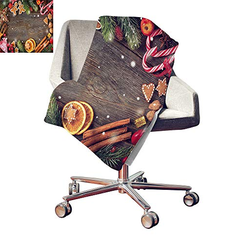 - Gingerbread Man Print Summer Quilt Comforter Festive Christmas Frame with Spices Biscuits Decorative Elements on Table Lightweight Blanket Multicolor Bed or Couch 80