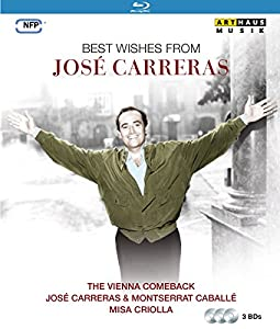 Best wishes from José Carreras [3 Blu-rays]