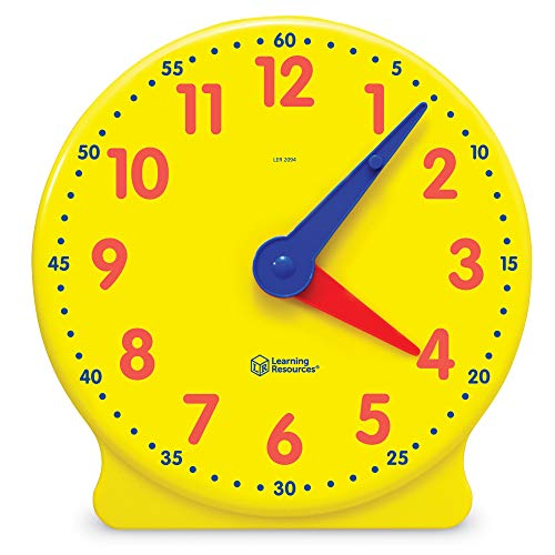 Learning Resources Big Time Learning Clock, 12 Hour, Basic...