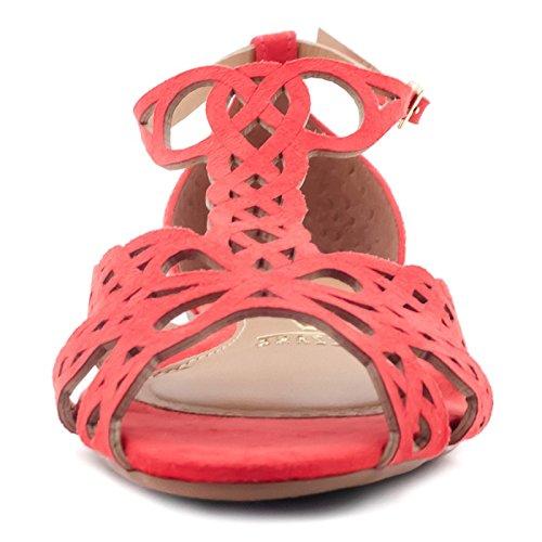 Vizzano Elvira, sandales confort femme - Rouge