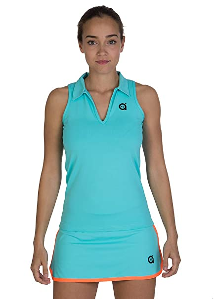 a40grados Sport & Style, Polo Peka, Mujer, Tenis y Padel (Paddle)