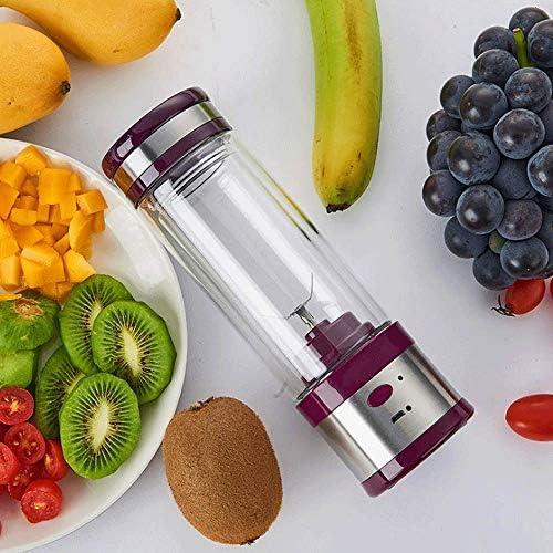 Exprimidor masticación Blender portátil/mini portátil Exprimidor Con 400ML BPA exprimidor de Copa/Fruit Juice licuadora con palas, Batido de frutas y un batido