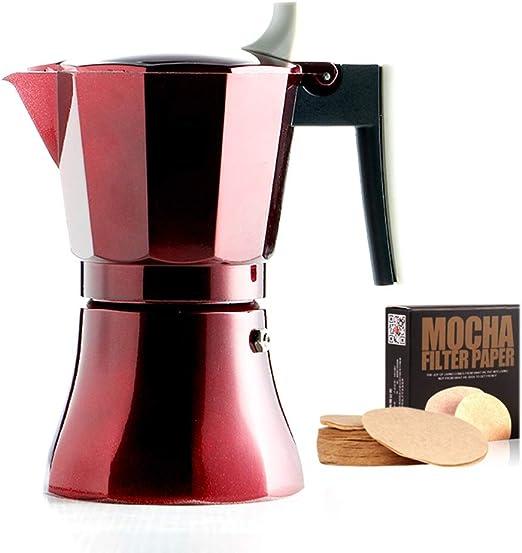 DNCST Cafetera Italiana Moka Pot Café Mocha Aparato eléctrico Pot ...