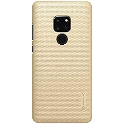 for Huawei Mate 20 Case,Nillkin [with Screen Protector] Frosted Shield Anti Fingerprints Hard PC Case Back Cover for Huawei Mate 20 -Retail Package ...