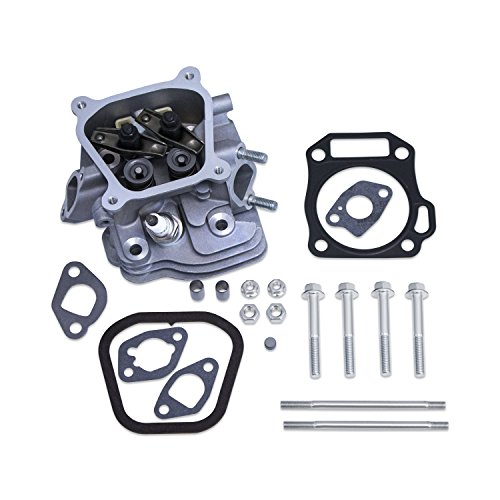 Cylinder Heads Fully Assembled - Everest Assembled Cylinder Head Kit Compatible with Honda GX200 Rockers Valves Springs Gaskets