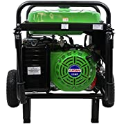 Lifan ES5700E-CA Energy Storm Portable Generator with Electric and Recoil Start, 5700W