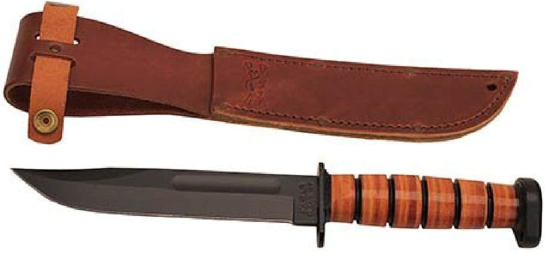KA-BAR 1317, Dog s Head Utility Knife W Sheath