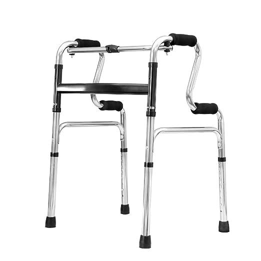 XHRHao Walker Plegable 8 Niveles de Altura Ajustable Adecuado for ...
