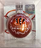 "NFL Cincinnati Bengals Traditional 2 5/8"" Ornament"