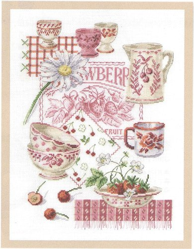 Summer Fruit Counted Cross-Stitch Kit