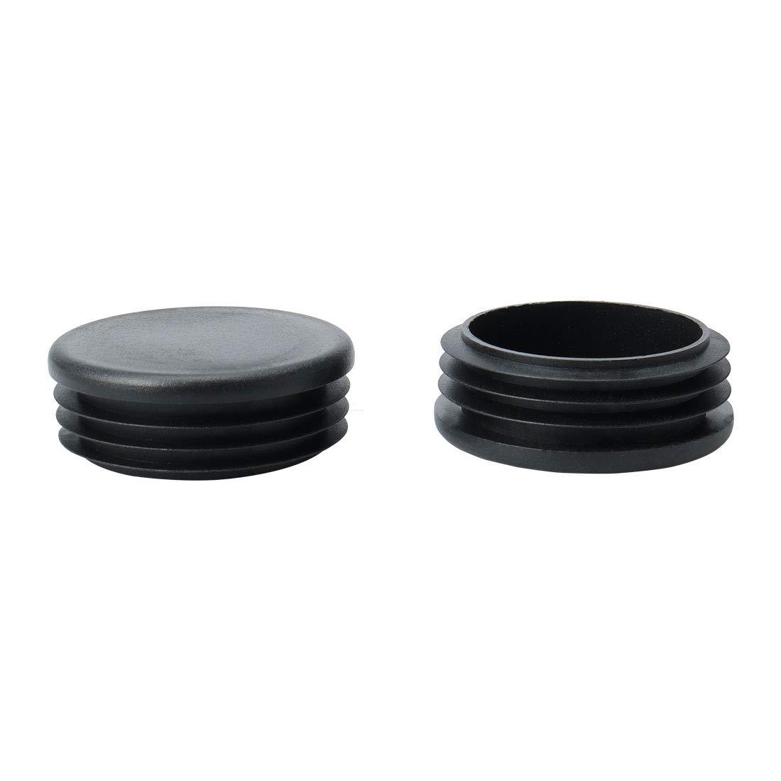 Keoptop accesorios de fontanero roscado maleable para l/ámparas steampunk vintage 20 piezas de 1,9 cm de tubo de brida de suelo pintado de hierro industrial negro para decoraci/ón de muebles