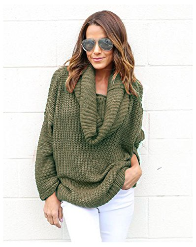 Womens Casual Sleeve Pullover Sweater
