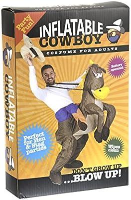 Inflatable Costumes Paul Lamond Games - Disfraz de cowboy con ...