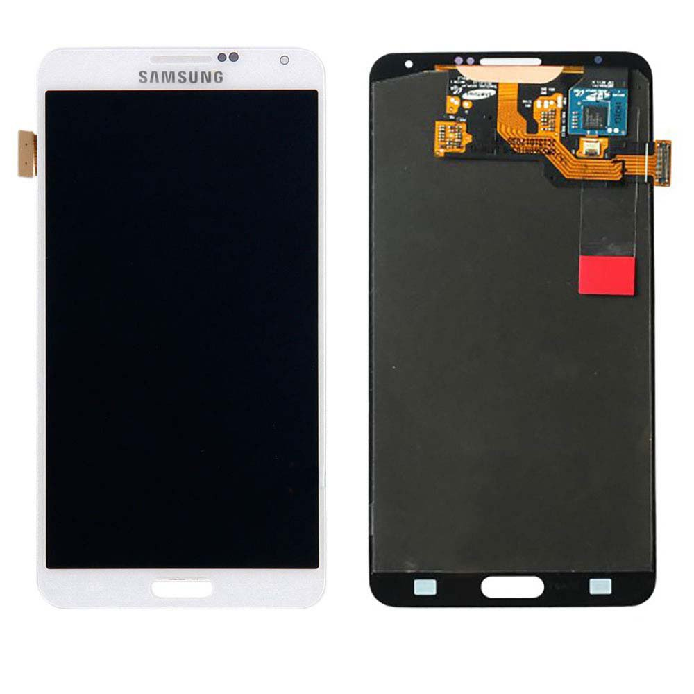 Touch Screen Digitizer and LCD for Samsung Galaxy Note 3 - White