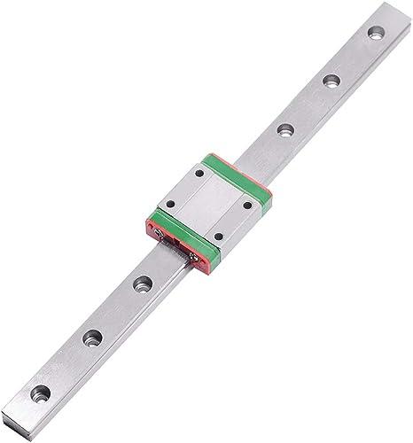 1pcs 15 mm Miniatur Linear Guide MGN15 L100mm linear Rail mit 1pcs MGN15H Block
