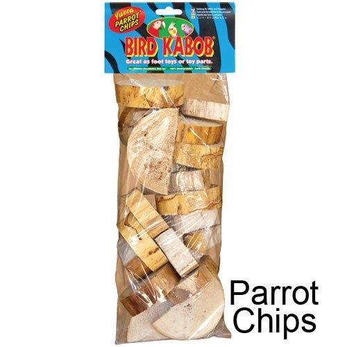 Kabob Bird Toy 3pk Parrot Chips
