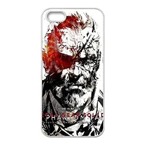 iPhone 5,5S Phone Case White Metal Gear Solid V The Phantom Pain TH6GH567926