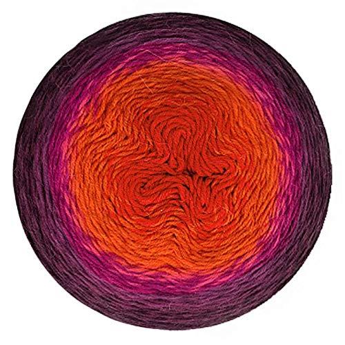 Scheepjes Yarn Whirligig (209 - Plum to Red) by Scheepjes (Image #4)