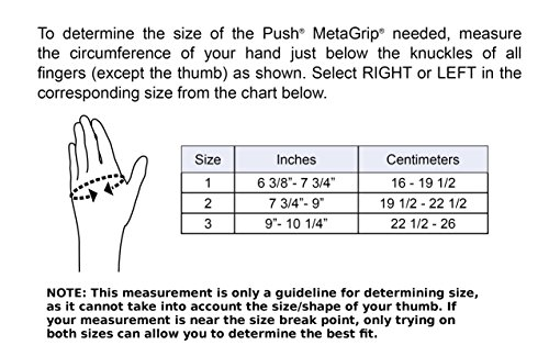 Push Metagrip Right Size 1 Cmc Thumb Brace For Relief Of