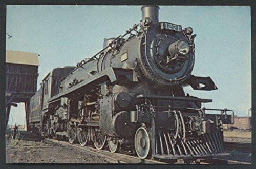 1 Port McNicoll Ontario Canada Railroad Train Postcard (Canada Pacific Train)