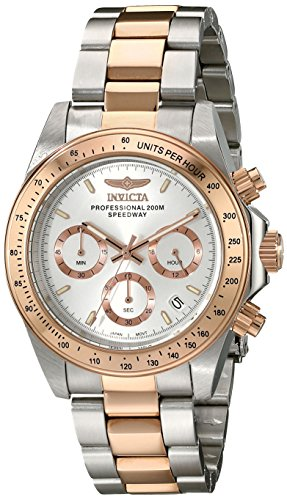 Speedway Rose Gold (Invicta Men's 17030 Speedway Analog Display Japanese Quartz Two Tone Watch)