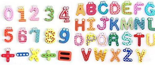ounona juguetes educativos 41pcs imanes para nevera imanes de ...
