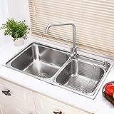 29.5 Inch Stainless Steel Kitchen Sinks Topmount Sink