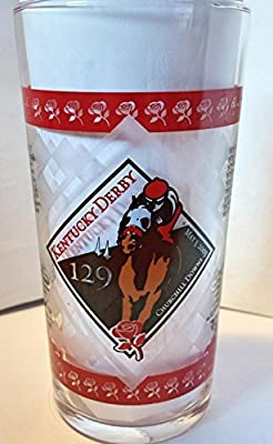 Kentucky Derby Official 129th Julep Derby Glass 2003 -- Churchill Downs