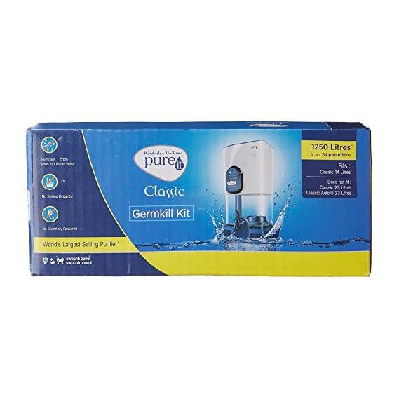 HUL Pureit Germkill kit for Classic 14 L water purifier - 1250 L